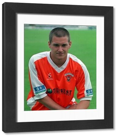 Andy Couzens, who plays for Blackpool football club