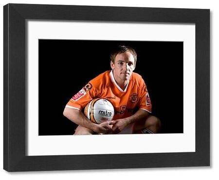 David Vaughan - Blackpool Play Off Feature - Bloomfield Road