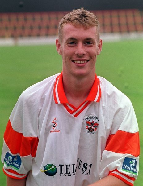 Adam Nowland, who plays for Blackpool Football Club
