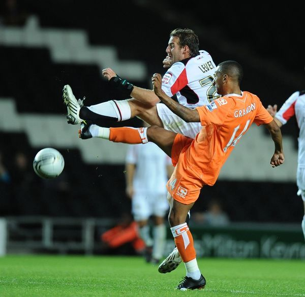 Carling Cup - Second Round - Milton Keynes Dons v Blackpool - stadium:mk