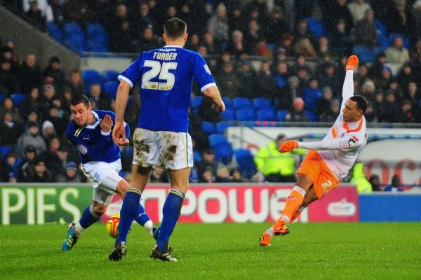 Blackpool's Matt Phillips scores his first goal and his sides second