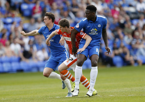 Sky Bet League One - Peterborough United v Blackpool - ABAX Stadium