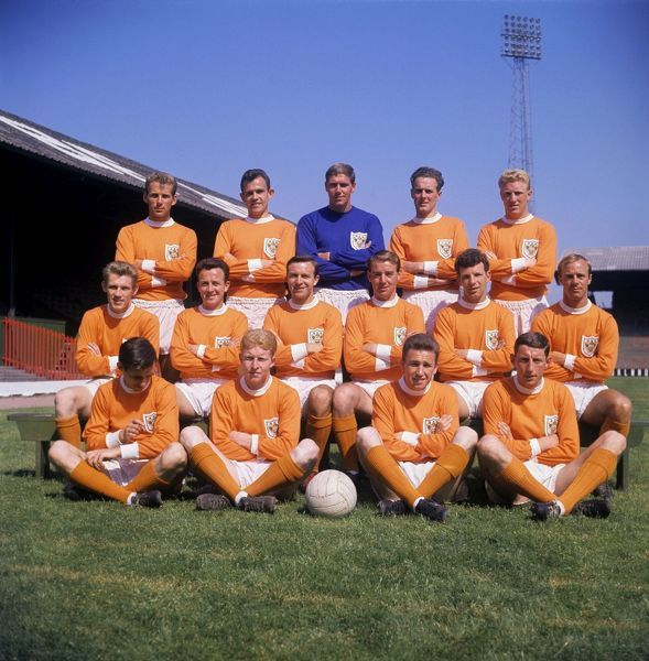 Blackpool FC Team Group Division One 1963-64