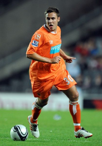 Stephen Husband - Carling Cup - Second Round - Milton Keynes Dons v Blackpool - stadium:mk