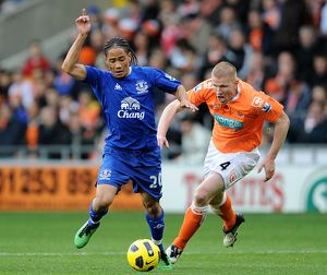 Barclays Premier League - Blackpool v Everton - Bloomfield Road
