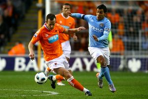 Barclays Premier League - Blackpool v Manchester City - Bloomfield Road