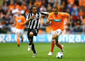Barclays Premier League - Blackpool v Newcastle United - Bloomfield Road