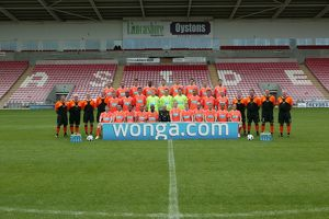 Blackpool Team Photo 2010/11