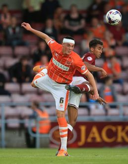Capital One Cup - First Round - Northampton Town v Blackpool - Sixfields Stadium