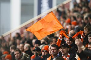 fans/crowd/coca cola football league championship blackpool