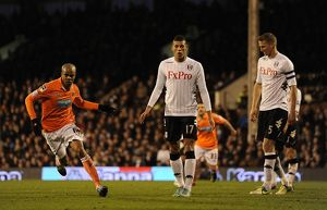 FA Cup - Third Round - Fulham v Blackpool - Craven Cottage