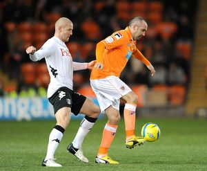 FA Cup - Third Round Replay - Blackpool v Fulham - Bloomfield Road