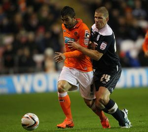 npower Football League Championship : Blackpool v Huddersfield Town : Bloomfield Road (Selection of 12 Items)