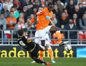 npower Football League Championship : Blackpool v Hull City : Bloomfield Road : 01-01-2013 (Selection of 24 Items)