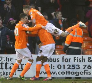 npower Football League Championship : Blackpool v Millwall : Bloomfield Road : 09-02-2013 (Selection of 18 Items)