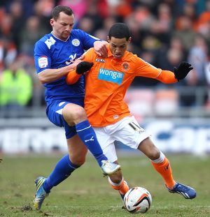 npower Football League Championship - Blackpool v Leicester City - Bloomfield Road