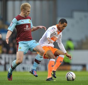 npower Football League Championship : Burnley v Blackpool : Turf Moor : 20-10-2012 (Selection of 5 Items)
