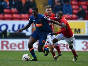 npower Football League Championship : Charlton Athletic v Blackpool : The Valley (Selection of 23 Items)