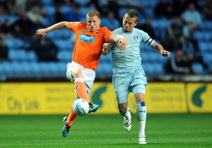 npower Football League Championship - Coventry City v Blackpool - Ricoh Arena