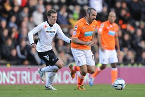npower Football League Championship : Derby County v Blackpool : Pride Park : 04-11-2012 (Selection of 4 Items)