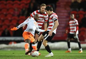 <b>14-02-2012 Doncaster Rovers v Blackpool</b><br>Selection of 41 items