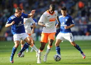 npower Football League Championship : Leicester City v Blackpool : King Power Stadium (Selection of 15 Items)