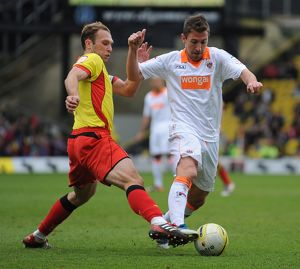 npower Football League Championship - Watford v Blackpool - Vicarage Road