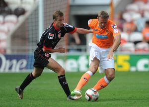 Pre Season Friendly - Blackpool v Morecambe - Bloomfield Road