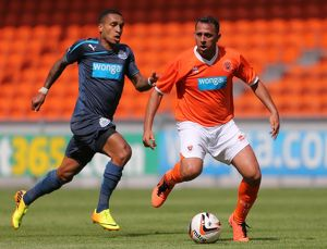 Pre-Season Friendly - Blackpool v Newcastle United - Bloomfield Road