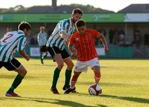 Pre Season Friendly - Blyth Spartans v Blackpool - Croft Park