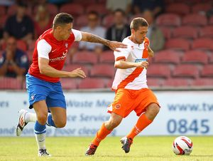 Pre-Season Friendly - York City v Blackpool - Bootham Crescent