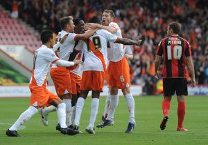 Sky Bet Championship : AFC Bournemouth v Blackpool : Dean Court : 14-09-2013 (Selection of 18 Items)