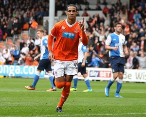 Sky Bet Championship : Blackpool v Blackburn Rovers : Bloomfield Road : 26-10-2013 (Selection of 8 Items)