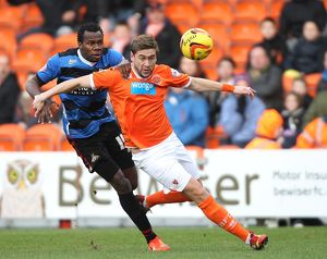 Sky Bet Championship : Blackpool v Doncaster Rovers : Bloomfield Road : 25-01-2014 (Selection of 16 Items)
