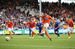 Sky Bet Championship - Blackpool v Leicester City - Bloomfield Road