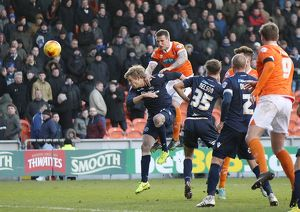 <b>Sky Bet Championship - Blackpool v Millwall - Bloomfield Road</b><br>Selection of 8 items