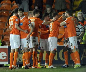 Sky Bet Championship : Blackpool v Millwall : Bloomfield Road : 11-03-2014 (Selection of 10 Items)