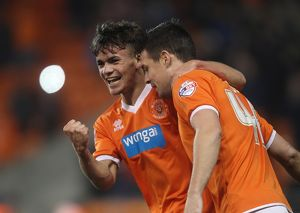 <b>Sky Bet Championship - Blackpool v Rotherham United - Bloomfield Road</b><br>Selection of 13 items