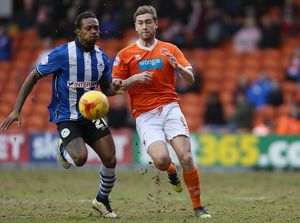 Sky Bet Championship - Blackpool v Wigan Athletic - Bloomfield Road