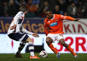 Sky Bet Championship : Bolton Wanderers v Blackpool : Reebok Stadium : 25-03-2014 (Selection of 7 Items)