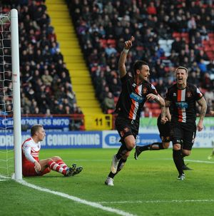 <b>Sky Bet Championship - Charlton Athletic v Blackpool - The Valley</b><br>Selection of 9 items