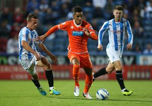 Sky Bet Championship : Huddersfield Town v Blackpool : John Smiths Stadium (Selection of 7 Items)