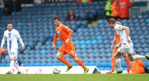 Sky Bet Championship : Leeds United v Blackpool : Elland Road : 12-04-2014 (Selection of 4 Items)