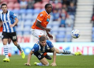 Sky Bet Championship - Wigan Athletic v Blackpool - DW Stadium