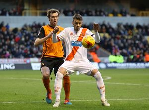 <b>Sky Bet Championship - Wolverhampton Wanderers v Blackpool - Molineux Stadium</b><br>Selection of 3 items