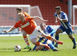 Sky Bet League One - Blackpool FC v Wigan Athletic - Bloomfield Road