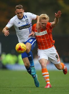 Sky Bet League One - Bury v Blackpool - Gigg Lane