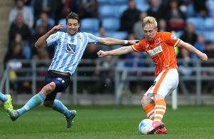 Sky Bet League One - Coventry City v Blackpool - Ricoh Arena