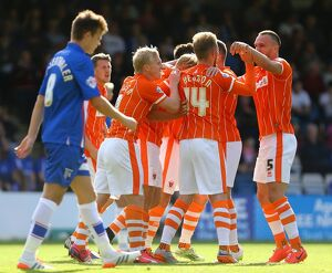 Sky Bet League One - Gillingham v Blackpool - Priestfield Stadium