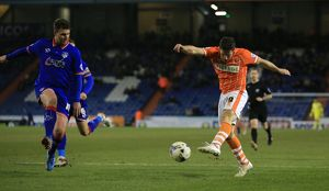 Sky Bet League One - Oldham Athletic v Blackpool - SportsDirect.com Park